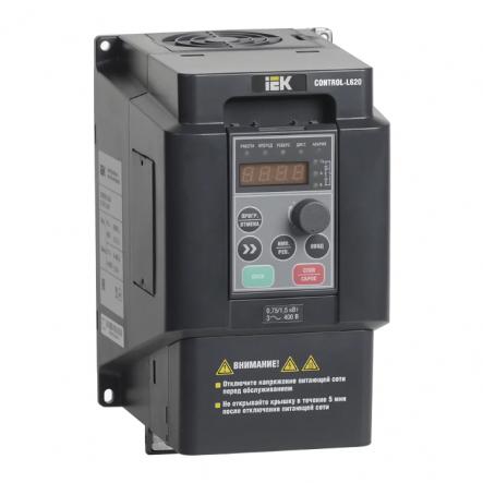 Преобразователь частоты CONTROL-L620 380В, 3Ф 0,75-1,5 kW IEK - 1