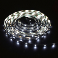 Светодиодная лента Feron LS612/LED-RL 120SMD(3528)/m 9.6W/m 12V 5m*10*3.8mm белый на белом осн IP22