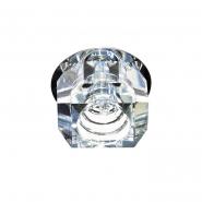 Светильник точечный Feron JD64  G9 20W хром/прозрачный