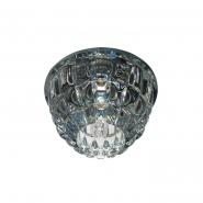 Светильник точечный Feron JD68 JCD9 35W прозрачный серый