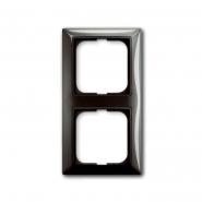 Рамка двойная серый ентре