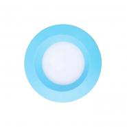 Светильник светодиодный Feron 3W круг, голубой 240Lm 5000K 90*26mm d75mm