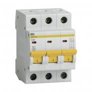 Автоматический выключатель IEK ВА47-29 3p 40A D