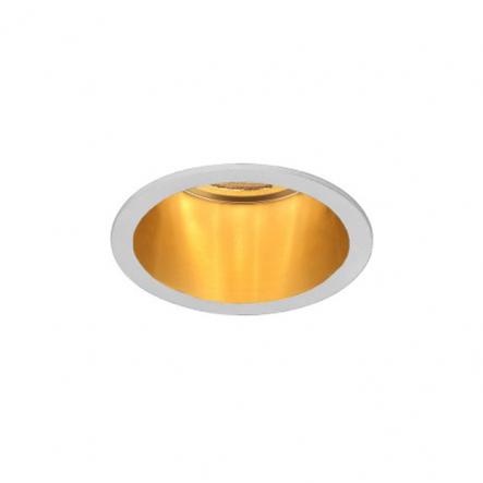 Светильник точечный Feron DL6003 MR16/G5.3 алюминий белый+золото - 1