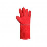 Перчатки Крага на подкладке красные длинные SP69245