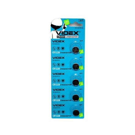 Батарейка CR 1220 VIDEX - 1