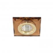 Светильник точечный  Feron 8150-2  коричневый золото