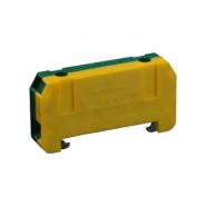 Клеммная колодка однорядная RSN 6 желто-зел
