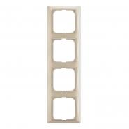 Рамка 4-я Basic 55  слоновая кость