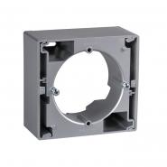 Коробка для наружного монтажа алюминий Sedna