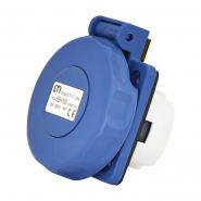 Розетка встраиваемая EEH-16S  IP67 (16A, 250V, Schuko) ETIMAT