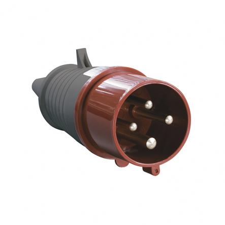 Вилка 024 3Р+РЕ 32А 380В IP44 ІЕК - 1