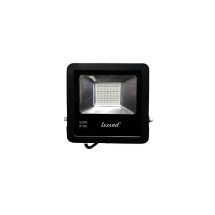 Прожектор Лед 50Вт, Алюминиевый корпус IP65 6500K 4000LmLEZARD - 1