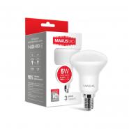 Лампа LED R50 5W 3000K 220V E14 Maxus