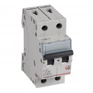 Автоматический выключатель Legrand TX3 20А 2Р 6кА тип С 404043