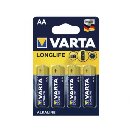 Батарейка VARTA HIGH Energy/LONGLIFE POWER LR-06 AA BLI 4 ALKALINE - 1