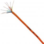 Провода для охранной и пожарной сигнализации пониженной пожароопасности СКВВнг-LS 6х0,4