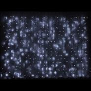 Гирлянда внешняя DELUX_CURTAIN_1520LED 2x7m белый/белIP44 EN