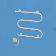 Полотенцесушитель электрический Змейка левая 70вт 535*500*75