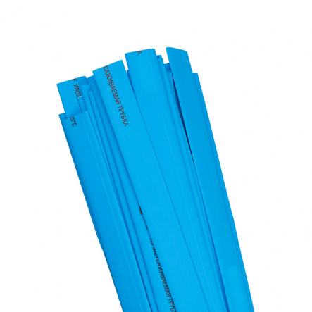 Трубка термоусадочная ТТУ 28/14 синяя 50м/рул ИЕК - 1