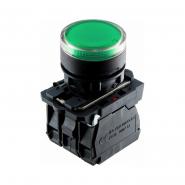Кнопка с подсветкой зеленая TB5-AW33M5 АСКО-УКРЕМ