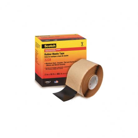 Скотч -Scotch 2228 резиново-мастичная электроизоляционная лента 3М - 1