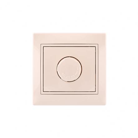 Светорегулятор 1000W крем со вставк. MIRA - 1