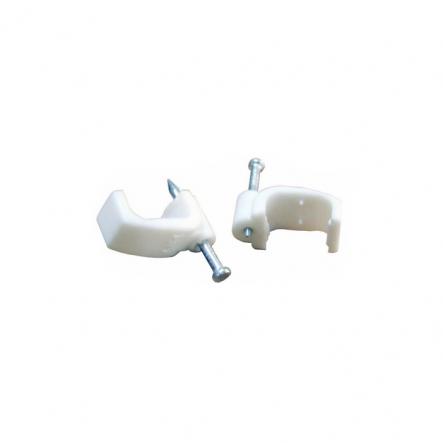 Скобы плоские 10 мм (100 шт в уп.) - 1