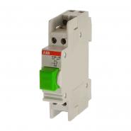 Кнопка Е225-11D зеленая  1НО+1Н3 (2CCE110830R0001) ABB