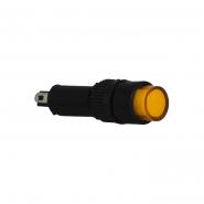 Сигнальна арматура AD22E-8DS жёлтая 24V АC/DC