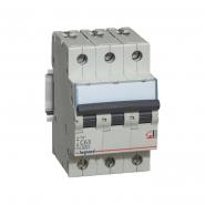 Автоматический выключатель Legrand TX3 63А 3Р 6кА тип С 404062