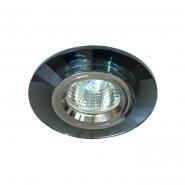 Светильник точный MR-16 G5.3 50W серый/серебро