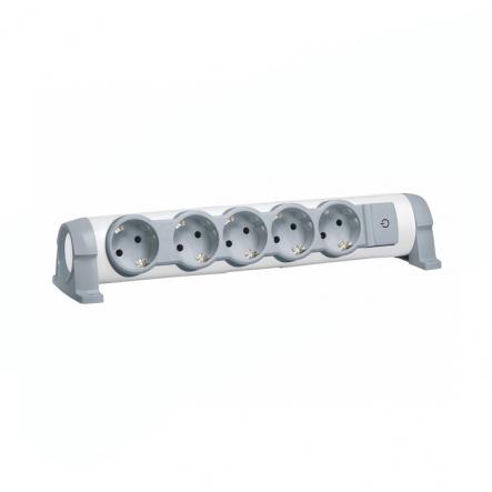 Подовжувач 5X2К+З без кабеля комфорт - 1