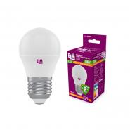 Лампа LED сфера 5W PA10 E27 4000K D45 ELM