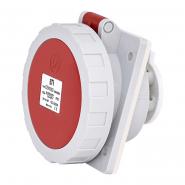 Розетка встраиваемая EEH-1653  IP67 (16A, 400V, 3P+N+PE) ETIMAT