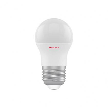 Лампа LED D45 8W PA LB-32 Е27 4000 шар ELECTRUM - 1