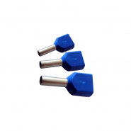 Наконечник трубчатый для двух проводов ECO ТЕ 0,5-08 (упак.50 шт)