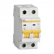 Автоматический выключатель IEK ВА47-29 2р 20А D
