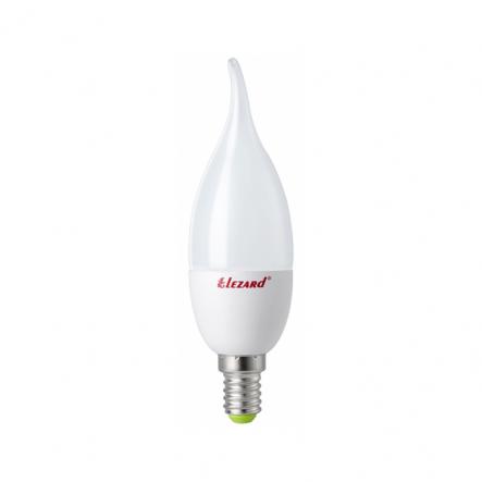 Лампа LED свеча B35 7W 4200K E14 220V Lezard - 1