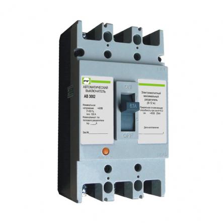 Автоматический выключатель АВ3002/3Н 3P In=16А Промфактор - 1