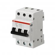 Автоматический выключатель ABB SH203 C40 3п 40А