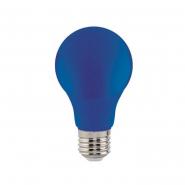 Лампа LED 3W E27 синяя 10/100 HOROZ