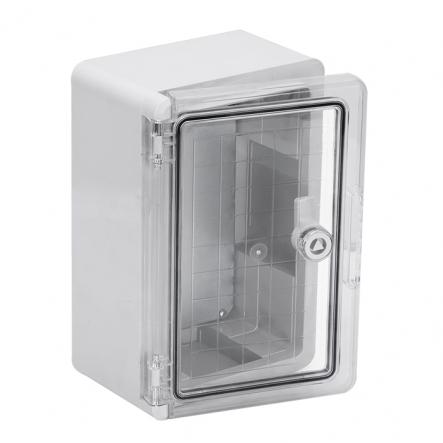 Корпус пластиковый ЩМПп 300х200х130мм прозрачная дверь УХЛ1 IP65 IEK - 1