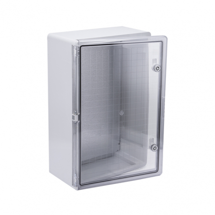 Корпус пластиковый ЩМПп 600х400х200мм прозрачная дверь УХЛ1 IP65 IEK - 1
