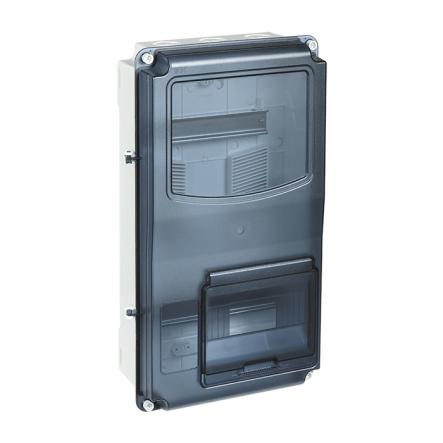 Корпус пластиковый ЩУРн-П 3/12 IP66 PC LIGHT IEK - 1