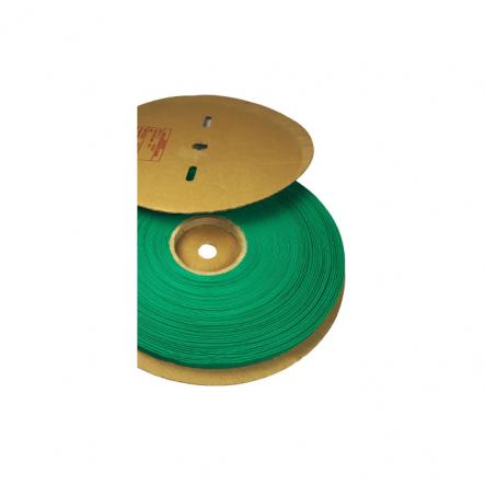 Трубка термоусадочная ТТУ 18/9 зеленая 100 м.рул ИЕК - 1