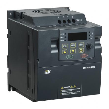 Преобразователь частоты CONTROL-A310 220В, 1Ф 2,2 kW 10А IEK - 1