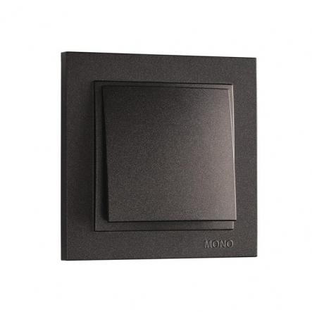 Выключатель 1 кл. Mono Electric, DESPINA ( графит ) - 1