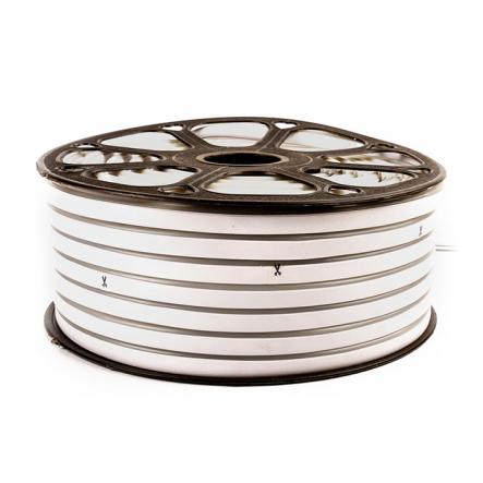 Светодиодный неон белый нейтральный, силикон # 54-NW AVT-NEON 120NW2835-12V-6W/m IP65 6*12mm - 1