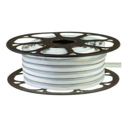Светодиодный неон розовый, силикон # 54-P AVT-NEON 120B2835-12V-6W/m IP65 6*12mm - 1
